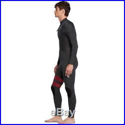 Hurley Advantage Plus 3/2mm Full Wetsuit in Anthracite NEW Hurley Mens Full Le