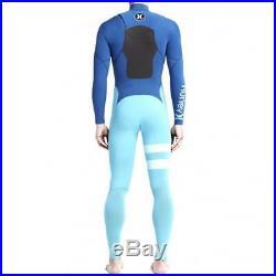 Hurley Fusion 302 Fullsuit MEDIUM NEW Wet Full Suit White Black White Surf