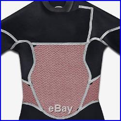 Hurley Fusion 403 Full Body Wetsuit Black/Gray BFS0000030 00AA Boys Size 10