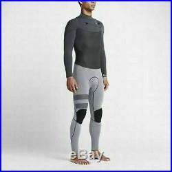 Hurley Men's Phantom 202 2mm Long Sleeve Full Wetsuit Anthracite (Size XS)
