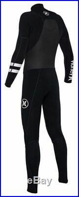 Hurley Men's Phantom 202 2mm Long Sleeve Full Wetsuit Black (Size XS)