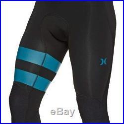 Hurley Mens Advantage Plus 3/2mm Full Wetsuit Dark Obsidian Hurley Mens Ful