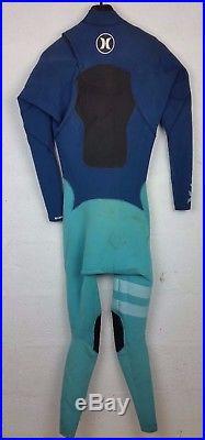 Hurley Return Wetsuit- Fusion 3/2mm ChestZip Full Suit Blue Men's Size LT