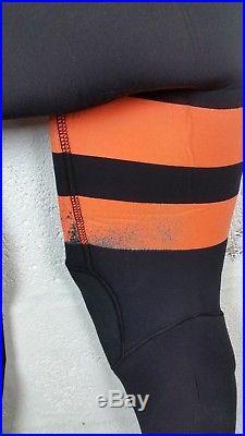 Hurley Return Wetsuit- Fusion 5/3mm ChestZip Full Suit Men's Size M