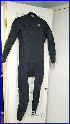 Hurley Surf Wetsuit Phantom 202 Black Size Large Full Suit Thermal w. Power Seam