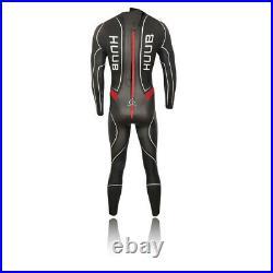 Huub Mens Aegis III 35 Full Wetsuit Black Sports Triathlon Breathable