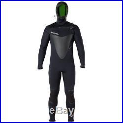 Hyperflex Men's Voodoo 6/5/4mm Hooded Full Wetsuit Black Size LS Large Short