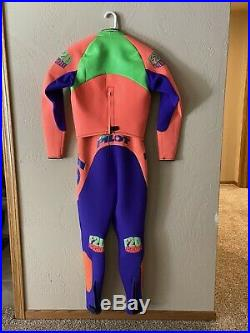 Jet Pilot F20 Tigershark Wetsuit + Shorts Boots Gloves PFD Mens Large Full Set
