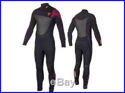 Jobe Yukon 5/4/3 Ruby Mens Steamer Full Wetsuit Jetski Wakeboard Waterski