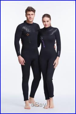 KJ2373 Neoprene 5MM SCR Wetsuit Scuba Diving WetSuit Full Body Surf Snorkeling G