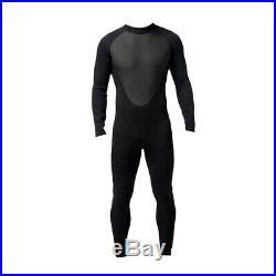 Men 3mm Neoprene Wetsuit Surf Diving Jetski Kayak Swim Long Full Body Suit M