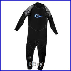 Men's 5mm Wetsuit Long Sleeve Full Body Diving Suit Swimming Surf Rash Guard