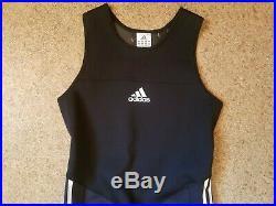 Men`s Adidas FULL BODY SUIT SPEEDSUIT SKINSUIT SWIMSUIT WETSUIT Size M