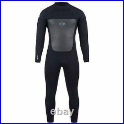 Men's Full Length 5 mm Winter Wetsuit, Neoprene Surfing Diving Wetsuit Size(M)