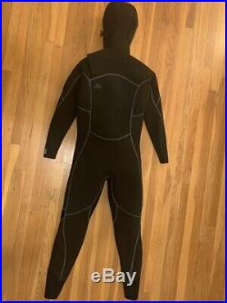 Men's R5 Yulex Front-Zip Hooded Full Suit Medium
