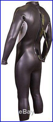 Men's Triathlon Wetsuit 5/3mm Neosport NRG 5/3mm Men's Triathlon Full Wetsuit