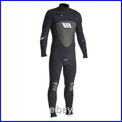 Men's West Lotus 3/2 Fluid Seams Cold Surfing Full Wetsuit Black Size S
