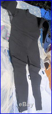 Men's wetsuit Akena Brand Full Length Zipper off leg makes short long 5mm XXXL