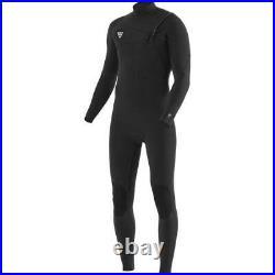 Mens VISSLA 7 Seas Comp 3/2 Full Suit Long Wetsuit Surfing Watersports Black