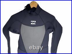 NEW Billabong Mens Full Wetsuit Size Medium Absolute Comp 3/2 Black