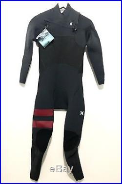 NEW Hurley Mens Full Wetsuit Advantage Plus Size Medium M 3/2 Chest Zip $250