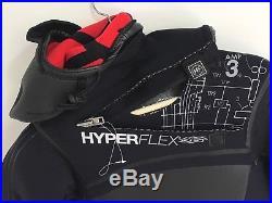 NEW Hyperflex AMP 3 Hooded Wetsuit 6/5/4 Full Suit Front Zip MS