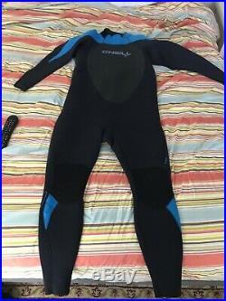 NEW O'Neill Mens Full Wetsuit Size XXXL 3XL Epic 5/4 Black