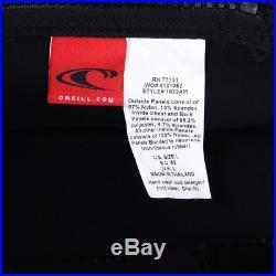 NEW O'Neill Psycho 2 Zen-Zip 4/3 Black/Black Full Wetsuit Men's Large