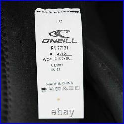 NEW O'Neill Wetsuits 4212 Men's Back Zip Full Wetsuit Black / Black / Black L