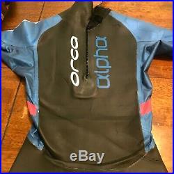 NEW Orca Mens Alpha Full Triathlon Wetsuit Size 7 (Medium) Retail $699