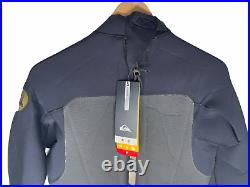 NEW Quiksilver Mens Full Wetsuit Size Large AG47 3/2 Retail $300