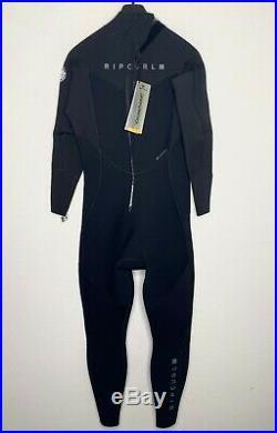 NEW Rip Curl Mens Full Wetsuit Size XLS 4/3 Sealed Dawn Patrol
