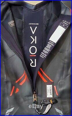 NEW Roka Maverick X Full Wetsuit Triathlon Black Sz M/L The Fastest Wetsuit Ever