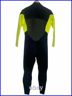 NEW Xcel Mens Full Wetsuit Size Large L 3/2 Chest Zip
