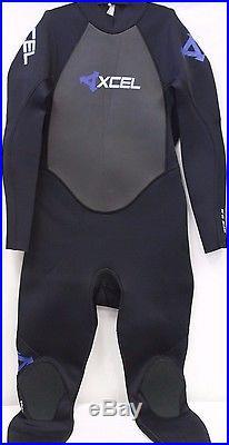 NEW Xcel Wetsuit Neoprene Laminated GCS Full Suit MX32GCS3 Size MS