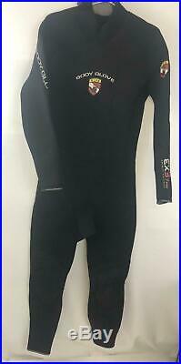 NWOT Body Glove Men's EX3 7MM Wetsuit Scuba Free Diving Full Suit Size ML