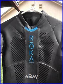 NWOT ROKA men's maverick comp II tri full wetsuit size XL