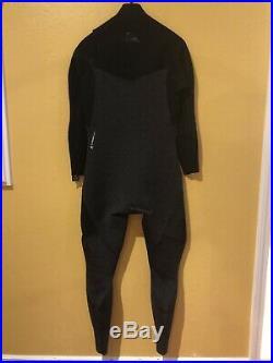 NWT $250 QUIKSILVER Men's 3/2mm HIGHLINE LITE ZIPPERLESS Full Wetsuit L
