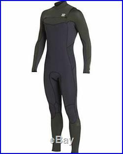 NWT, Billabong 4/3mm Furnace Absolute Chest Zip GBS Full Wetsuit Men's, XLS