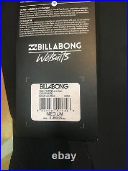 NWT Billabong Mens Furnace 302 Full Wetsuit SZ M Retail $399.85