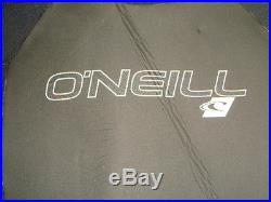 NWT ONeill Wetsuit Full Suit Mens Epic 3/2 mm Black/Black/Black Small