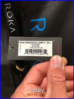 NWT ROKA men's maverick comp II tri full wetsuit size M/L