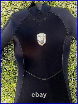 NWT Scuba Diving EX3 Body Glove Full Suit Cold Water Men Black Size ML 7mm Thick