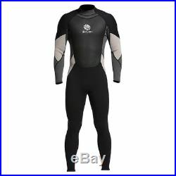 Neoprene One-piece Full Body Back Zip Dive Wetsuit Swimming Surfing Diving Suit
