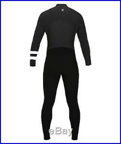 New $280 Men's Hurley Advantage Plus Wetsuit 4/3 Full Suit Black Size Medium