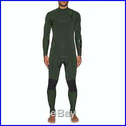 New $390 Men's Hurley Advantage Max Wetsuit 3/2 Full Suit Green Size Large Tall