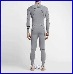 New $430 Men's Hurley Phantom 202 Wetsuit 2/2MM Full suit Grey Size XS