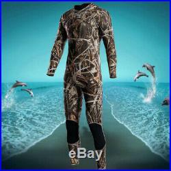 New Mens 3mm Full Body Neoprene Wetsuit Surfing SCUBA Diving Camouflage M