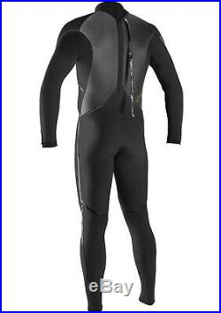 New O'Neill Heat 4/3 Back Zip Full Wetsuit Men's XXL