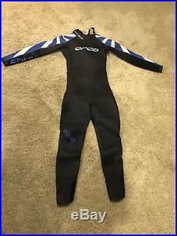 New Orca Mens Triathlon Wetsuit Size 7 Equip Full Sleeve